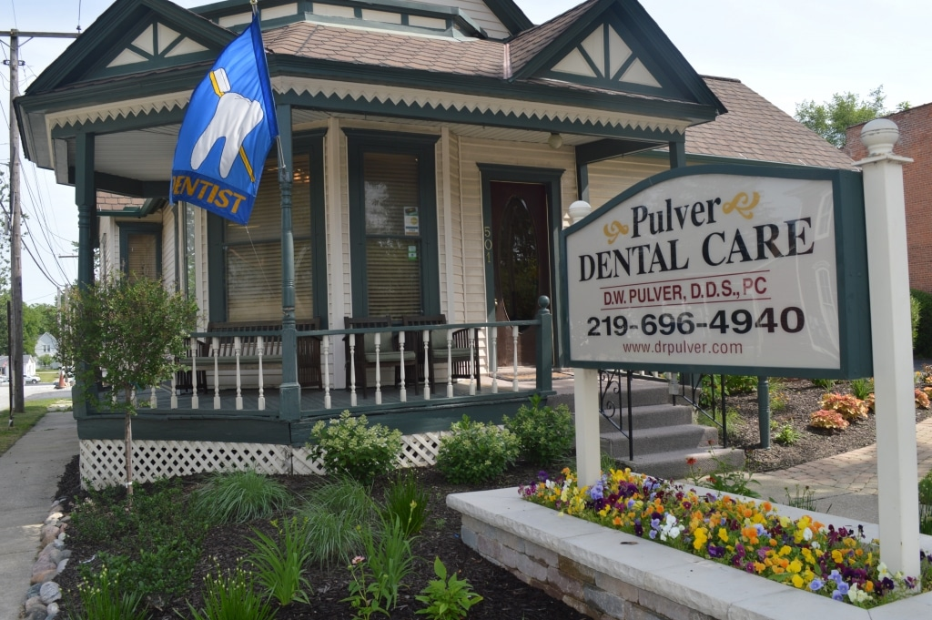 Pulver Dental Care front of office